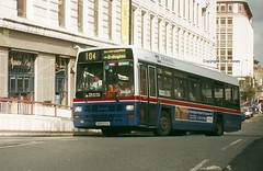 1164 G164 EOG PB (onthebeast) Tags: city travel west birmingham centre lynx leyland midlands eog wmt 1164 g164