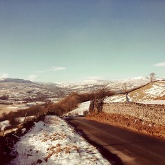 Photo of Swaledale from Reels Head, Nr. Marrick, Yorkshire