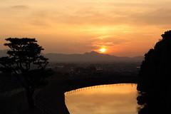 (ikaugust_t93) Tags: winter sunset nature japan canon landscape eos  5d nara   5dmk3 5dmark3