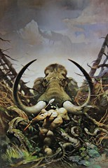 Back to the Stone Age (In Memory of ColGould) Tags: book paperback mammoth edgarriceburroughs frankfrazetta pellucidar backtothestoneage