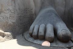 Statue of Gommateshvara (S Tu) Tags: india hassan karnataka jainism vindhyagirihill