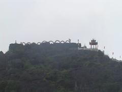 Bích Động Pagoda on Ngu Nhac Mountain