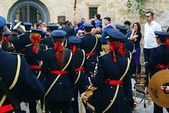 red ribbons (tamara calcao) Tags: santa espaa spain parade holy devotion week christianity procession salamanca catholicism semana castilla