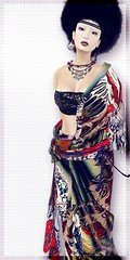 kecho B sukimono (fawn(ayame ame)) Tags: kokorotayori kimono  japan origami secondlife