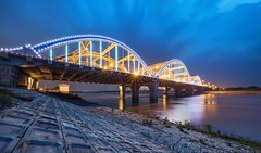 Long exposure Dong Tru bridge in Hanoi (Thien Thach Photography) Tags: longexposure bridge hanoicityscapes dongtru
