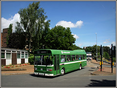 Western National 2813, Wellingborough (Jason 87030) Tags: westernnational leylandnational 2813 green livery wellingborough day event rally special mousehole northants northamptonshire bus vintage preserved hta844n
