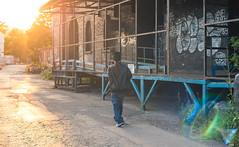 Habitus x Hablando a Solas (joshuacolephoto) Tags: city light sunset music sun colour contrast graffiti video nikon live flare d750 hiphop hip hop rap graff dope rapper recording timing