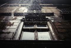 sprinkle (ewitsoe) Tags: show street windows summer cinema building film rain 35mm inspired poland streetscene lookup cinematic rainfall sprinkle poznan nikond80 ewitsoe erikwitsoe