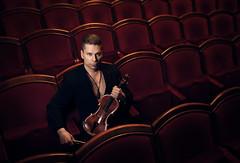 Antti Untamala Promoshoot @ Aleksanter Theatre Helsinki Finland (CeeTeeKoo) Tags: music man promotion theatre violin aleksander teatteri aleksanterin
