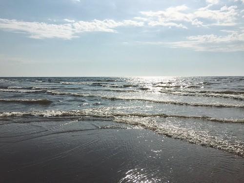 De zee verveelt me nooit