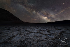 Badwater Basin Milky Way (Mike Ver Sprill - Milky Way Mike) Tags: starrylandscapestacker badwater basin milky way bad water death valley national park california cali mike galaxy stars star hot cracked earth salt flats 282 feet below sea level landscape night sky scape nightscape nightscapers long exposure astrophotography astro photography astronomy wide angle fine art beautiful surreal serene