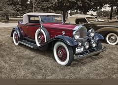 1932 Packard Eight Coupe Roadster ((The) Appleman) Tags: show classic museum vintage michigan standard eight coupe packard gilmore roadster 902 fotocreations grandexperience theappleman elegaant