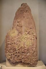 Limestone Victory Stele of Naram-sin, King of Akkad, c. 2250 BC (Gary Lee Todd, Ph.D.) Tags: france louvre paris ancient neareast