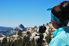 taking in the view. (PaperSt.SoapCo.) Tags: mountains view outdoor yosemite halfdome yosemitenationalpark olmstedpoint tiogard bigcitymountaineers