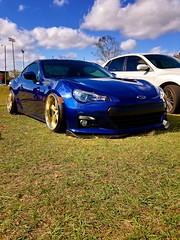 BRZ (Prescott Warshawsky) Tags: favorite view comment like beautiful lit lowrider ricer bagged slammed fave automotive car blue subaru brz