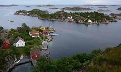 View from Borya (evenharbo) Tags: sea summer house norway island coast boat norge wooden cabin nikon boathouse srlandet borya sgne vestagder nikond7100 bastholmen