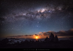 Moonset Under The Stars (The Art of Night) Tags: mark gee nzmustdo new zealand wellington astrophotography landscape long exposure milky way moon moonset night sky nightscape photography south coast stars theartofnight markgee newzealand longexposure milkyway nightsky southcoast nz