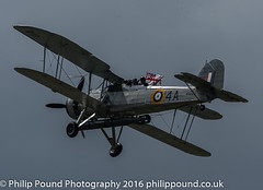 Royal Navy Swordfish Biplane (Philip Pound Photography) Tags: show fish plane air sword fairey torpedo battleship bismarck bomber farnborough biplane royalnavy