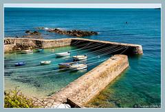 Port-Racine (christian_lemale) Tags: portracine cotentin france nikon d7100 sea mer bateaux boats cordages sling ropes jete pier