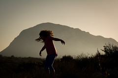 Dancing (monoestepario) Tags: sunset nature landscape escape dancing paisaje montg xbia