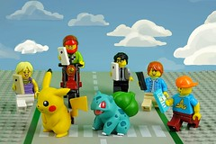 Pokemon Go! Go! Go! The AR mode (Lesgo LEGO Foto!) Tags: lego minifig minifigs minifigure minifigures collectible collectable legophotography omg toy toys legography fun love cute coolminifig collectibleminifigures collectableminifigure pokemongo pokemon go pikachu augmentedreality ar armode arfunction bulbasaur monster monsters