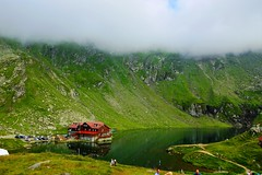 Clouds are coming over (Mircea D GHEORGHE) Tags: diamondclassphotographer flickrdiamond balealake fagarasmountains carpathiansromania chalet summergreen mountains carpathians glacierlake thelook ruby5