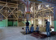 Inside Mukhtarov Mosque (Kachangas) Tags: vladikavkaz ossetia russianempire street life history russia alania capital mosque islam muslim caucasus northcaucasus