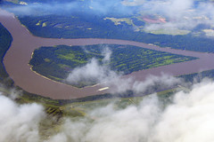 Too Thin to Plow... (Ian E. Abbott) Tags: aerials windowseatplease windowseat mississippiriver river