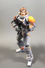 Mospeada inspired Hard Suit (polywen) Tags: lego mospeada constraction obi hardsuit