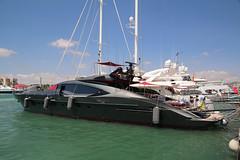 Expensive yacht in Eivissa (SimonFewkes) Tags: ibiza eivissa balearicislands islasbaleares santaeularia santaeulalia daltvila holiday travel balearics