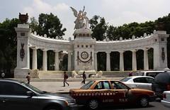 Palacio de Bellas Artes form the cafe on the 8th floor of the Sears building. (Shandchem) Tags: mexico city centre benito jurez hemicycle palacio de bellas artes form cafe 8th floor sears building