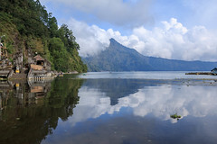 Peace  (Pei Chen Lu) Tags: danaubatur danau batur kintamani bali lake outdoor landscape mountain temple pura peace peaceful calm travel          indonesia