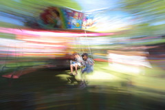 Redfest carrousel (Benn Gunn Baker) Tags: redfest benn gunn baker canon 550d t2i bristol st george park church rd 2016 august festival fairground lake carrousel motion blur