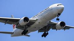 JAPAN AIRLINES   JAL   Boeing777-289   JA009D   Tokyo Haneda Airport (akg414p010) Tags: jl jal japanairlines   boeing 777200 b772 boeing777 ja009d  hnd haneda tokyo rjtt   hanedaairport tokyointernationalairport   canon eos7dmark ef100400mm