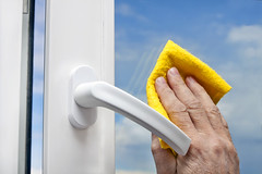 washing windows () Tags: active air blue building clean cleaning disinfectant detergent dirty fresh glass hand home house housework polish polishing sanitary servant service sky space wash washing water white window work ukraine