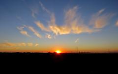 IMG_0024x (gzammarchi) Tags: italia paesaggio natura pianura campagna ravenna villanovadiravenna tramonto nuvola sole explore