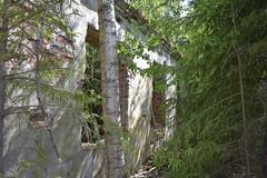 Tiilirakennus (porkkalanparenteesi) Tags: friggesby vanha lentokentt soviet urban exploring kirkkonummi abandoned airfield