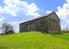 Old Barn - (IN EXPLORE) (Lois McNaught) Tags: oldbarn barn rural rustic outdoor summer woodenbarn flamboroughontario hamilton ontario canada farm