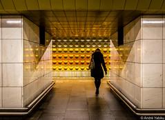 framing the Prague subway (Andre Yabiku) Tags: prague andreyabiku yabiku europa europe subway czechrepublic cz
