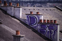 TagCheminee_9014 (cocolokoproducciones) Tags: streetart graffity graffitis tags roof