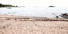 Hallkullanniemen semisalainen uimaranta. (neppanen) Tags: sampen discounterintelligence helsinki suomi finland helsinginkilometritehdas päivä58 reitti58 päiväno58 reittino58 uutela hallkullanniemi uimaranta hiekkaranta julkinen vapaapääsy semisalainen jemmassa