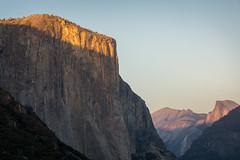 El Capitan (joshvanderzanden) Tags: california yosemite sierra mountains elcapitan halfdome granite outdoors landscape sunset