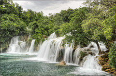 Krka National Park (in Explore) (Bert Kaufmann) Tags: croatia krka nature park nationalpark krkanationalpark nacionalniparkkrka croatian krkariver riverkrka dalmatia ibenikknin ibenik knin ecosystem waterval watervallen waterfalls waterfall krkawaterfalls tvornica ibenskokninska hdr explore explored