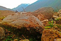 Embeded Rock (M.S.J Photography) Tags: rocks mountians river stream asia paksitan landscape msjphotography