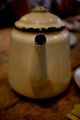 Here's my spout (Simon Taylor Local Photographic) Tags: teapot tea spout dof white indoors
