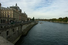 Muse d'Orsay along the Seine (jglsongs) Tags: paris france musedorsay riverseine seine museum