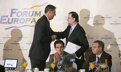 Mariano Rajoy y Xavier Garcia Albiol