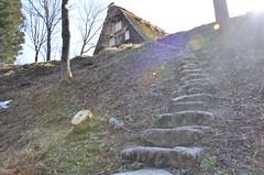 old village (Hayashina) Tags: shirakawago staircase village japan house