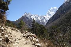 Aussicht (Alfesto) Tags: nepal trekking wanderung tengboche himalaya khumbuarea sagarmathanationalpark namche