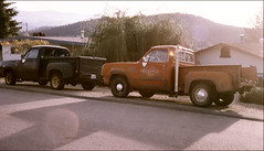 011027 (6)_Essess,Rex (stacy metcalf) Tags: 80 dodge stepside pickup 79 red express redexpress